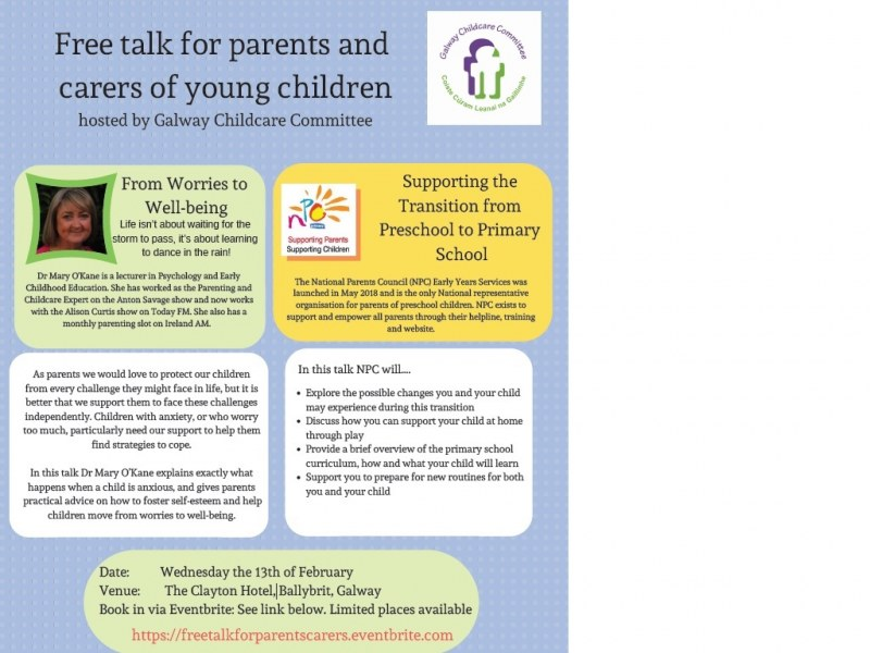 Galway Childcare Committee Childcare News